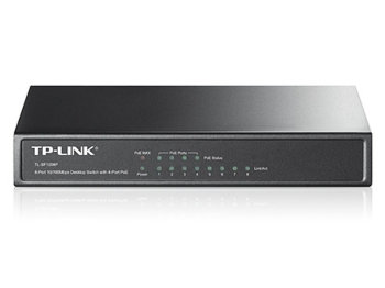 TL-SF1008P Switch TP-Link 4x10/100M PoE + 4x10/100M